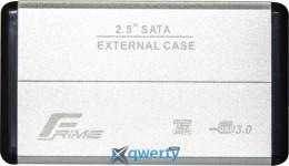 Frime для HDD/SSD SATA USB 3.0 Silver (FHE21.25U30) 2.5