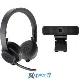 Logitech Personal Video Collaboration Kit (Zone Wireless + C925e) (991-000311)