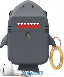Elago Shark Case Baby for AirPods Dark Grey (EAP-SHARK-DGY)