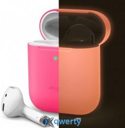 Elago Skinny Case for Airpods Neon Hot Pink (EAPSK-BA-NPK)