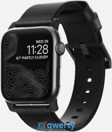 Nomad Modern Strap Black/Black for Apple Watch 44mm/42mm (NM1A41BM00)