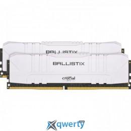 Crucial DDR4-3200 32GB PC4-25600 (2x16) Ballistix White (BL2K16G32C16U4W)