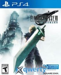 Final Fantasy VII Remake PS4 (английская версия)
