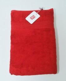 Бамбуковое полотенце для ванной TAC Maison Red 50х90см (18090424)