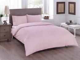 Двуспальный евро комплект TAC Basic Pink Ранфорс (60180246)