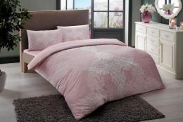Двуспальный евро комплект TAC Janna Pink Ранфорс (60191703)