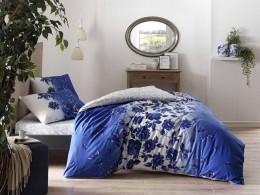 Двуспальный евро комплект TAC Lizzy Blue Ранфорс (60218973)