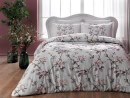 Двуспальный King Size комплект TAC Lotte Pink Сатин (60201185)