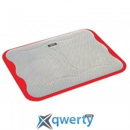 OMEGA Ice Cube Laptop Cooler Pad Red (OMNCPCBR)