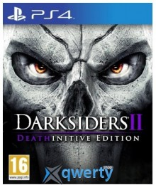 Darksiders II Deathinitive Edition PS4 (русская версия)