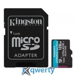 Kingston 128GB microSDXC class 10 UHS-I U3 A2 Canvas Go Plus (SDCG3/128GB)