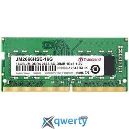 Transcend SODIMM DDR4-2666 16GB PC4-21300 (JM2666HSE-16G)