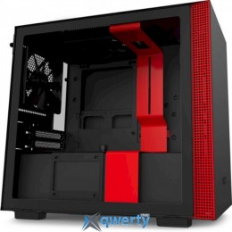 NZXT H210 Black/Red Chassis (CA-H210B-BR)