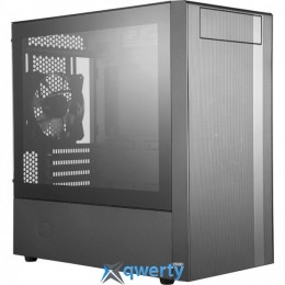 CoolerMaster MasterBox NR400 Tempered Glass (б/БП) (MCB-NR400-KG5N-S00)