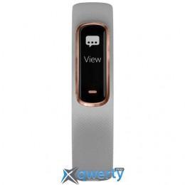 Garmin Vivosmart 4 Gray with Rose Gold Hardware Small/Medium (010-01995-12)