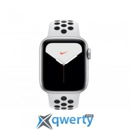 Apple Watch Nike Series 5 GPS, 40mm Silver Aluminium Case with Pur (MX3R2UL/A)