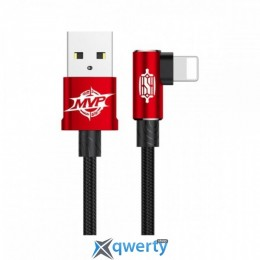 Lightning Baseus MVP Elbow Type Cable USB For IP 2A 1M Red (CALMVP-09)