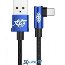 USB Type-C Baseus MVP Elbow Type Cable USB For Type-C 1.5A 2M Blue (CATMVP-B03)