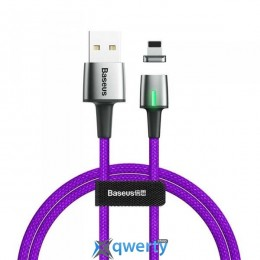 USB Type-C Baseus Zinc Magnetic Cable USB For Type-C 2A 2m Purple (CATXC-B05)
