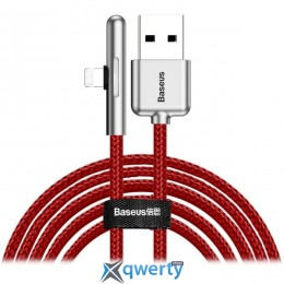 Lightning Baseus Iridescent Lamp Mobile Game Cable USB For iP 2.4A 1m Red (CAL7C-A09)