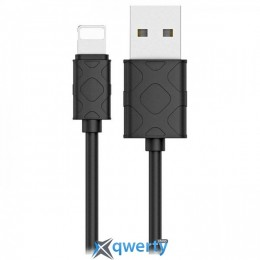 Lightning Baseus USB Cable to Lightning Yaven 1m Black (CALUN-01)