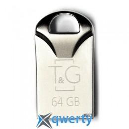USB 64GB T&G 106 Metal Series Silver (TG106-64G)
