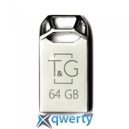USB 64GB T&G 110 Metal Series Silver (TG110-64G)
