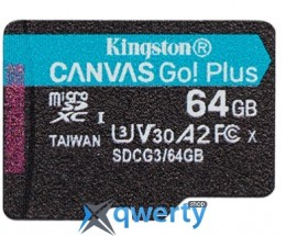 Kingston Canvas Go! Plus microSD (SDCG3/64GBSP) купить в Одессе