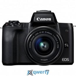 Canon EOS M50 + 15-45 IS STM Kit (+ 15-45 IS STM Web Kit Black) (2680C060WCK)