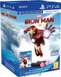 Move Motion Controller Marvels Iron Man Bundle