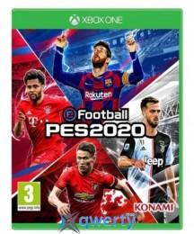 Pro Evolution Soccer 2020 XBox One (русские субтитры)