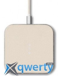 Courant Catch 1 Single Fast Wireless Charger Bone (CR-C1-WH-SL)