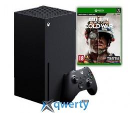 Microsoft Xbox Series X 1Tb + Call of Duty: Black Ops Cold War (русская версия)