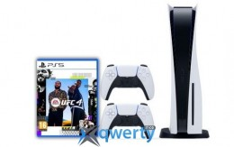 Sony Playstation 5 White 1Tb + UFC 4 (русская версия) + DualSense (White)