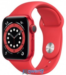Apple Watch Series 6 GPS (M00A3) 40mm PRODUCT(RED) Aluminium Case with PRODUCT(RED) Sport Band
