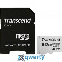 Transcend 512GB microSDXC Class 10 U3 (TS512GUSD300S-A)