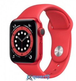 Apple Watch Series 6 GPS M00M3 44mm PRODUCT RED Aluminium Case with PRODUCT RED Sport Band