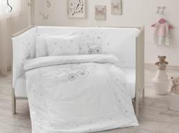 Набор в кроватку с бортиками и одеялом TAC Happy Baby (8 предметов) (71241211)