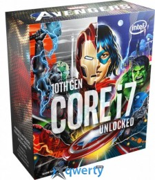Intel Core i7-10700K 3.8GHz/16MB (BX8070110700KA) s1200 Marvel's Avengers Collector's Edition BOX