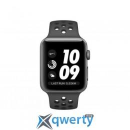 Apple Watch Nike+ Series 3 GPS, 42mm Space Grey Aluminium Case wit (MTF42FS/A)