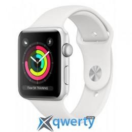 Apple Watch Series 3 GPS, 42mm Silver Aluminium Case (MTF22FS/A)