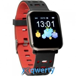 Gelius Pro GP-CP11 Plus (AMAZWATCH 2020) (IP68) Black/Red (Pro GP-CP11 Plus Black/Red)