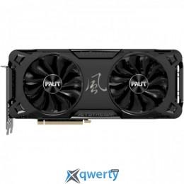 Palit PCI-Ex GeForce RTX 3070 JetStream OC 8GB GDDR6 (256bit) (1500/14000) (3 x DisplayPort, HDMI) (NE63070T19P2-1040J)