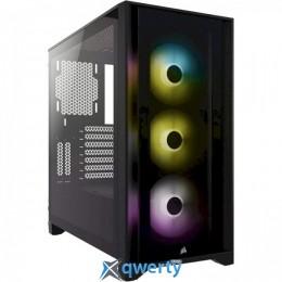 CORSAIR iCUE 4000X RGB Tempered Glass Black (CC-9011204-WW)