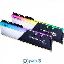 G.Skill DDR4-3200 32768MB PC4-25600 (2x16) Trident Z Neo (F4-3200C16D-32GTZN) купить в Одессе