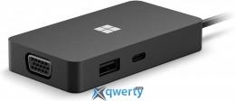 Microsoft USB-C Travel Hub Black (SWV-00010)