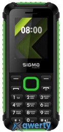 Sigma mobile X-style 18 Track Black/Green