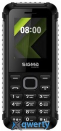 Sigma mobile X-style 18 Track Black/Grey