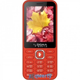 Sigma mobile X-style 31 Power Dual Sim Red (31 Power Red)