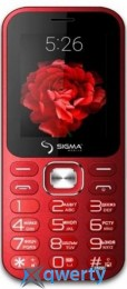 Sigma mobile X-style 32 Boombox Dual Sim Red (X-Style 32 Boombox Red)
